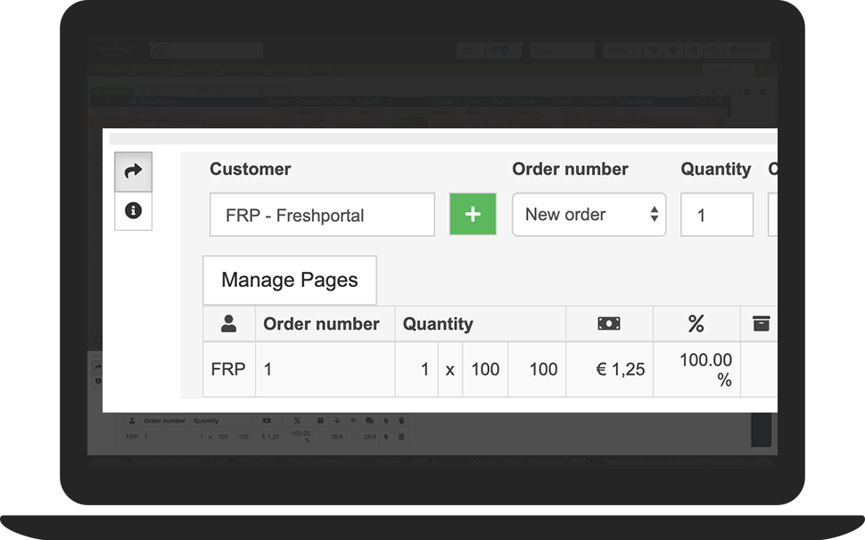 Create Customer Order