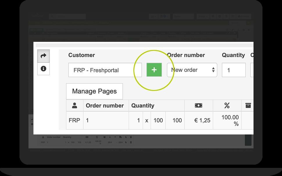 Create Customer Order