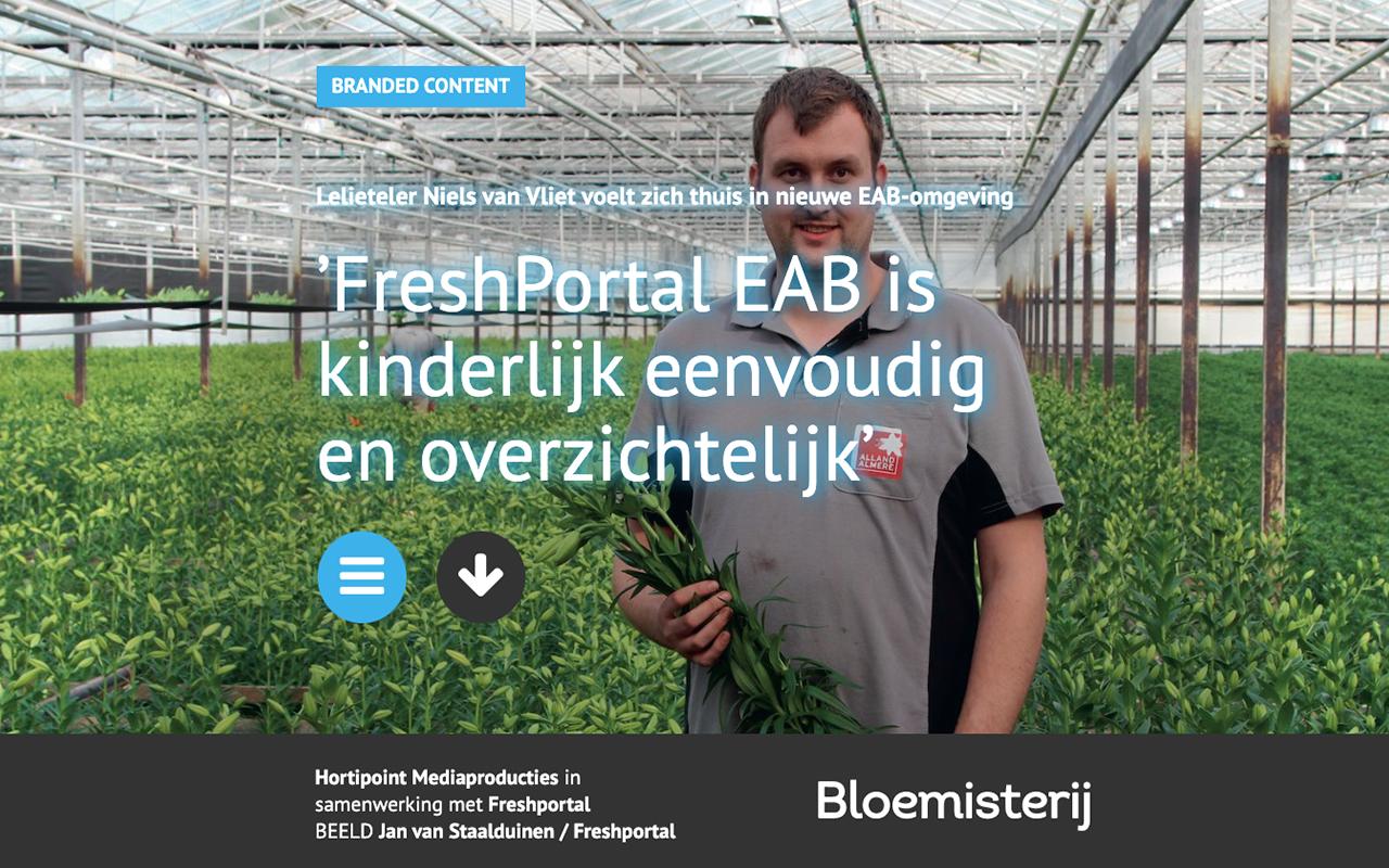 FreshPortal in het vakblad voor de Bloemisterij