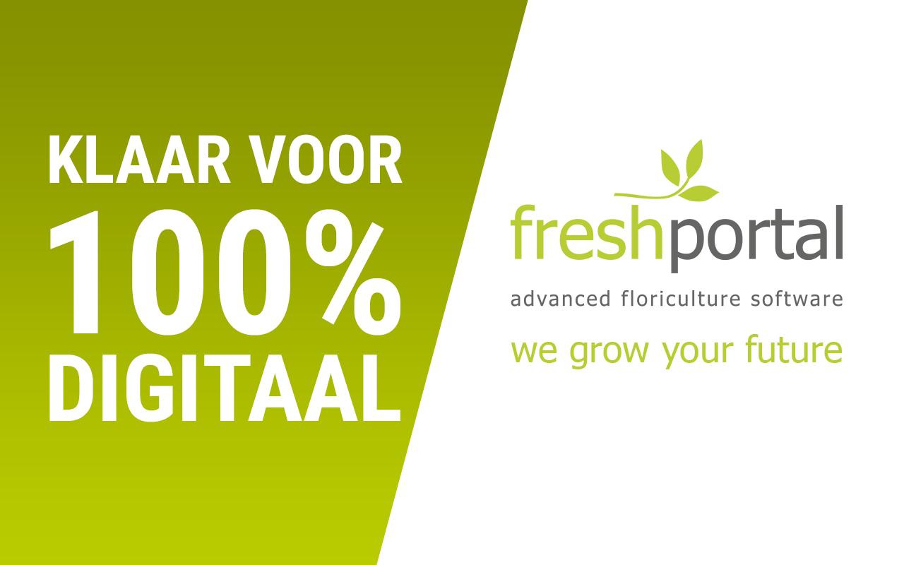 FreshPortal klaar voor 100% Digitaal